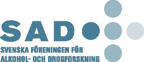Svenska Föreningen för Alkohol- och Drogforskning (SAD) Logo